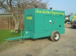 Fully Enclosed mobile Diesel Engine irrigation Pump Unit