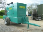 Engine Enclosed mobile Diesel Engine irrigation Pump Unit