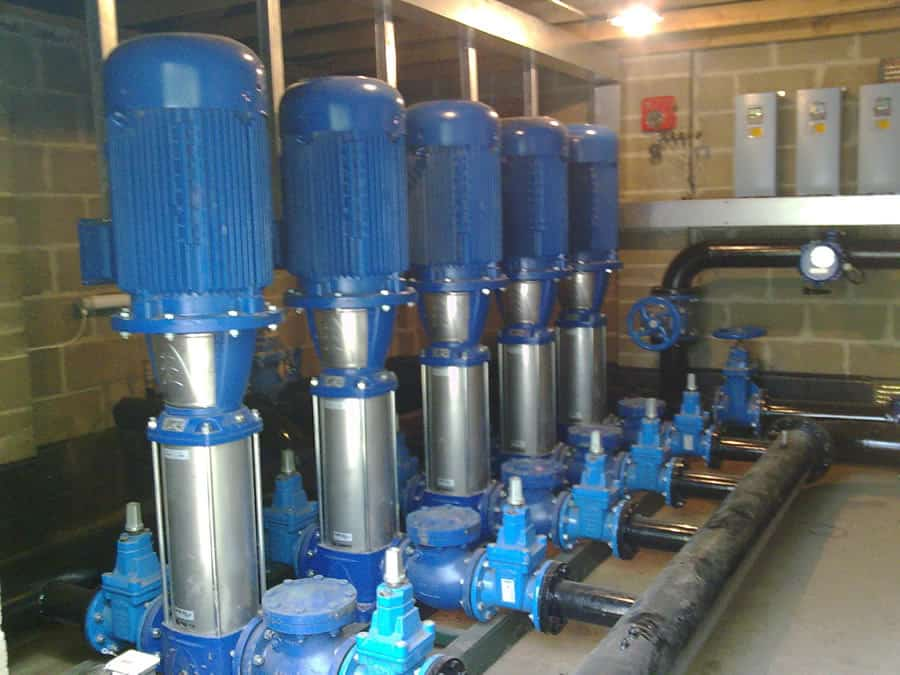 Vertical Multistage Pumping System