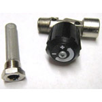 Shutdown valve filters and restrictors