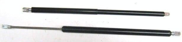 Shutoff valve gas rams