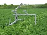 Asymmetric off-set raingun trolley